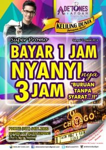 Bayar 1 Nyanyi 3 poster web